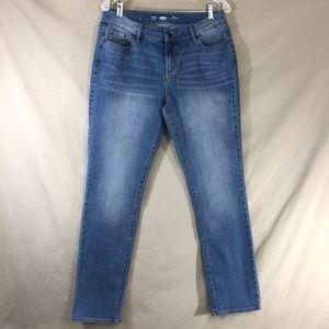 Old Navy Straight Regular Fit Light Wash Jeans